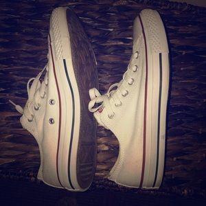 White Converse All Stars